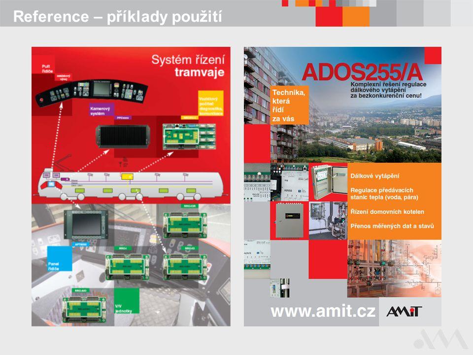 Přehled produkce  Řídicí systémy-modulární -kompaktní  Řídicí terminály a terminály pro sběr dat  Terminály a ovladače -textové -grafické -nástěnné ovladače  Průmyslové a panelové počítače  Vzdálené vstupy/výstupy  GSM/GPRS modemy  Komunikační převodníky  Síťové napájecí zdroje  Zakázkový vývoj a výroba