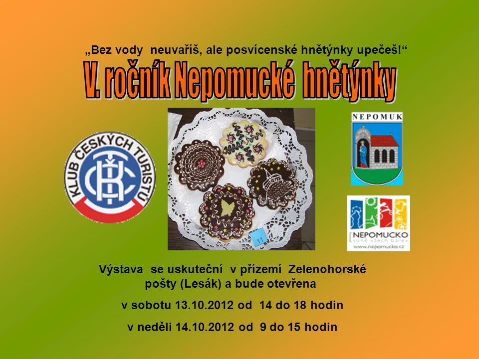 NEDĚLE 14.10.2012 Světový den chůze WWD pěší trasa IVV 12 km Start z nádraží ČD 8 – 9,30 hodin.
