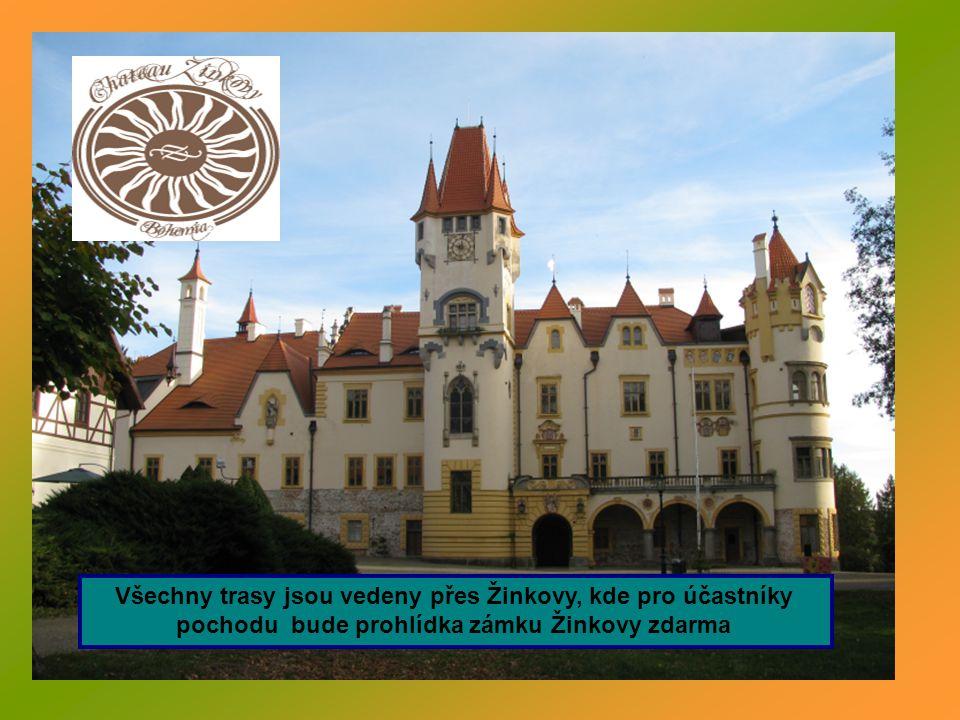 Sobota 12.října 2012 start pochodu – restaurace Švejk Nepomuk od 9 do 10,30 hodin Autobusem vás odvezeme do Žinkov.