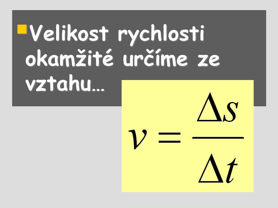  Grafem s = f(t) je opět část paraboly. a =-3 ms -2 v 0 =30 ms -1