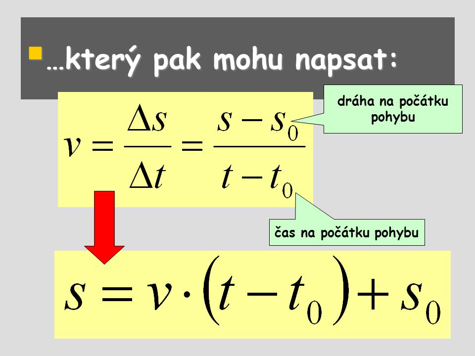  Jednoduchým případem křivočarého pohybu je pohyb rovnoměrný po kružnici.