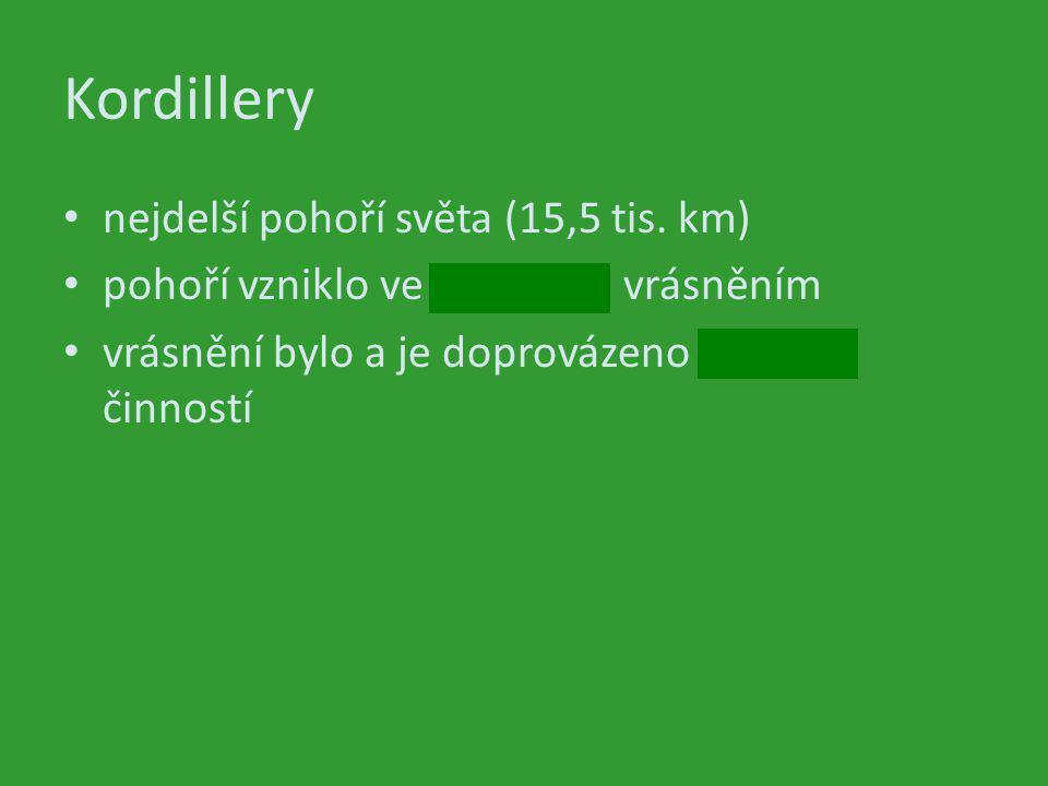 Kordillery obr.č.