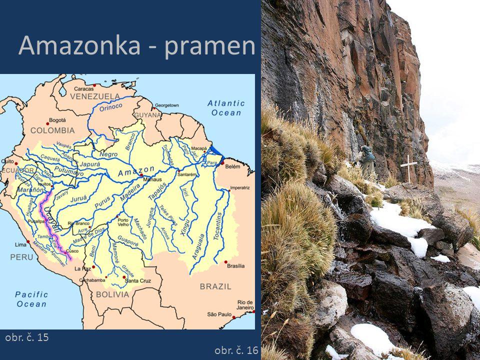 Amazonka - pramen obr. č. 15 obr. č. 16