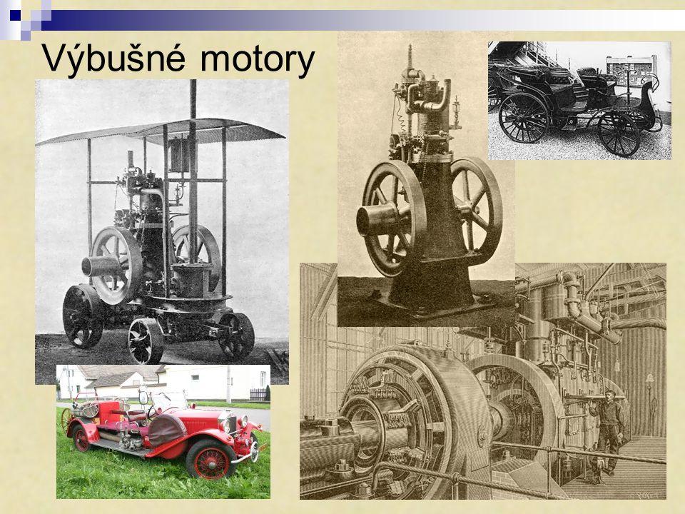 Výbušné motory