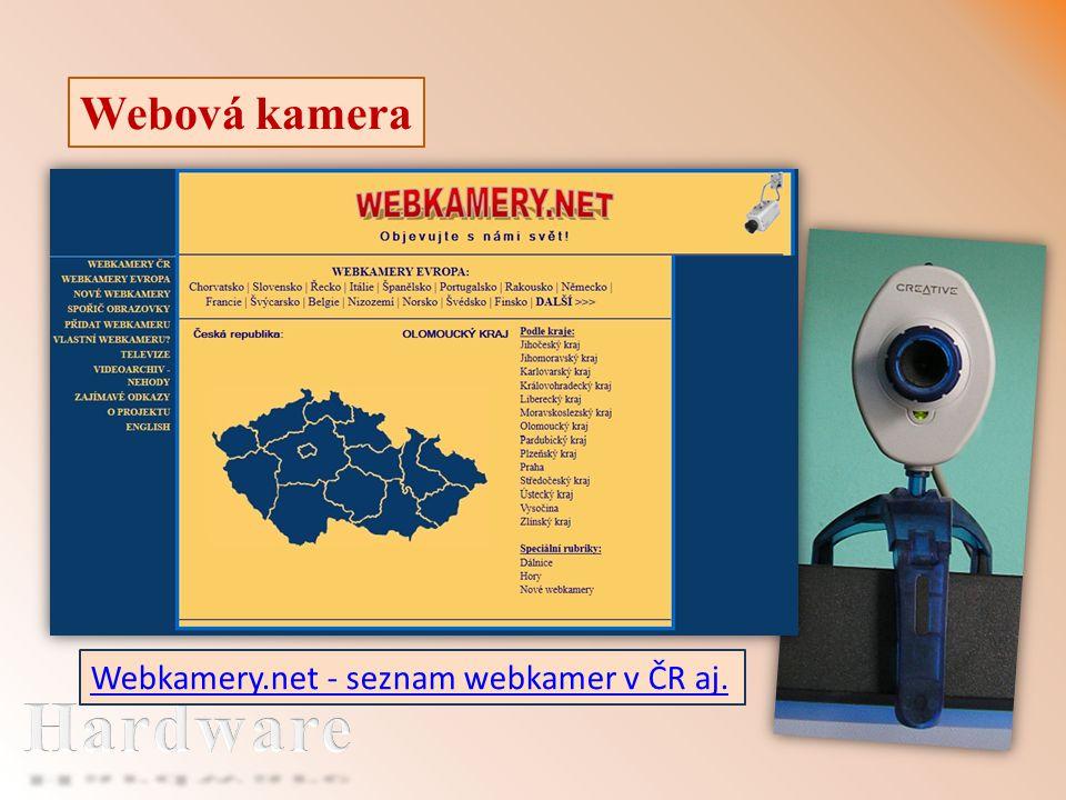 Webová kamera Webkamery.net - seznam webkamer v ČR aj.
