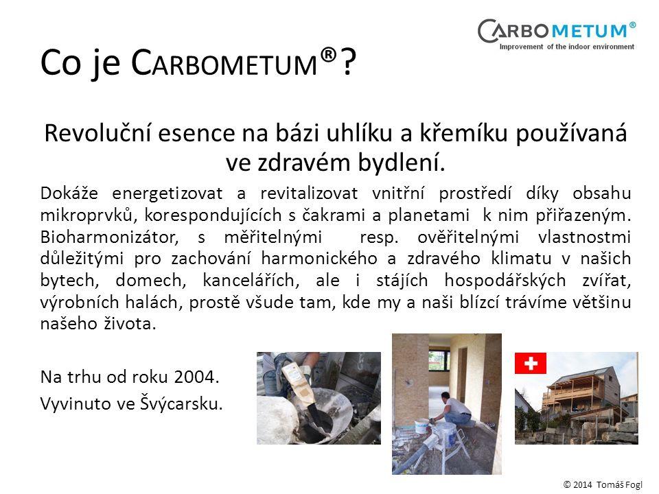 Náklady na C ARBOMETUM ® © 2014 Tomáš Fogl Stavební materiálNáklady na CARBOMETUM® Beton - 300 kg cementu na 1 m3 1 500,00 CZK / m3 Cementová podlahová mazanina - 300 kg cementu na 1 m3 a tlloušťku 70 mm 150,00 CZK / m2 Cementová základní omítka tl.