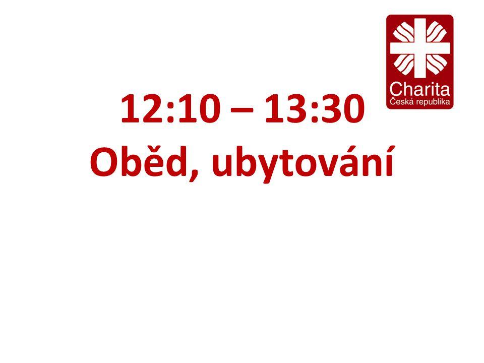 12:10 – 13:30 Oběd, ubytování