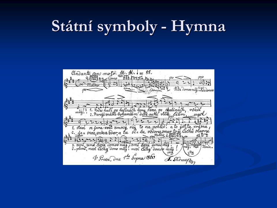 Státní symboly - Hymna