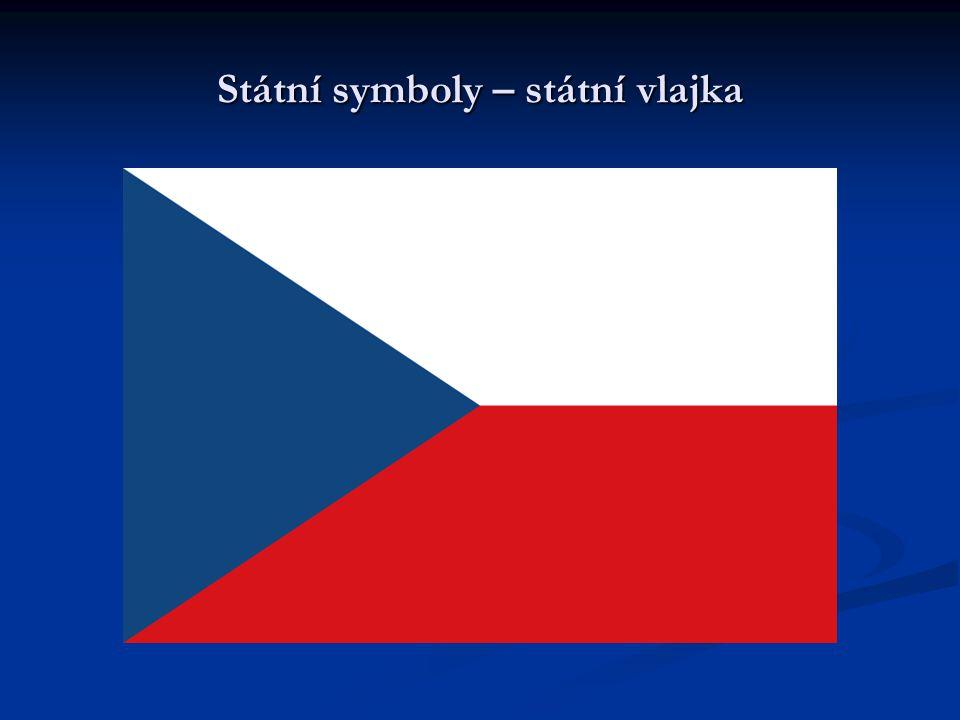 Státní symboly – státní vlajka