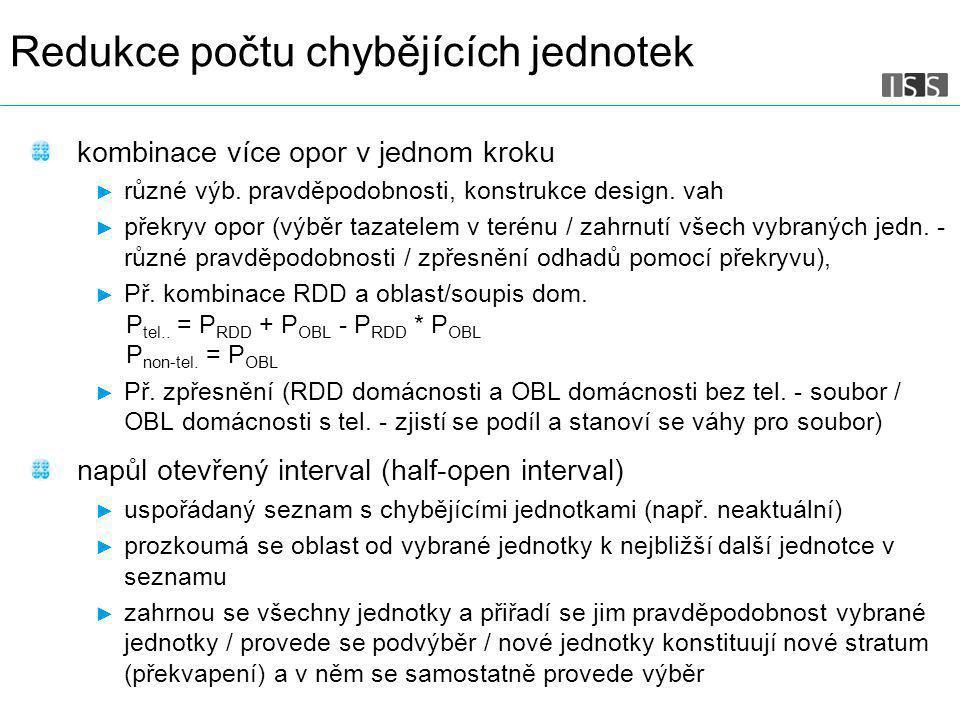 Str. 5 kombinace více opor v jednom kroku ► různé výb.