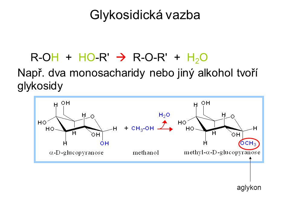 Chemické vlastnosti monosacharidů 1 1.