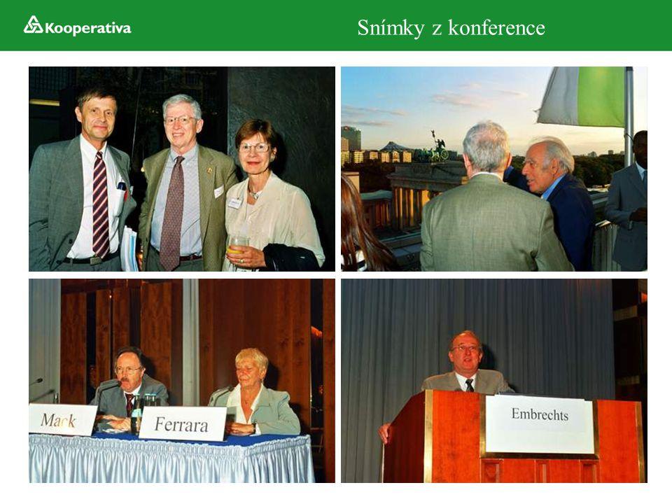 Snímky z konference