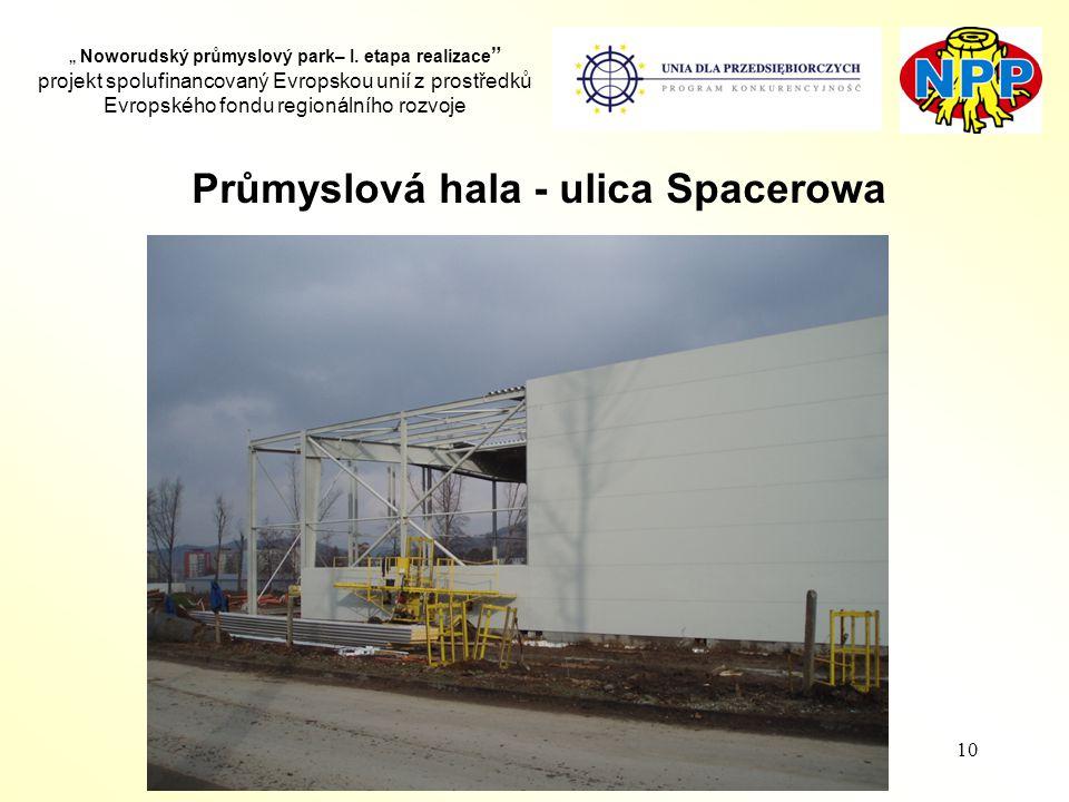 """10 """" Noworudský průmyslový park– I."""