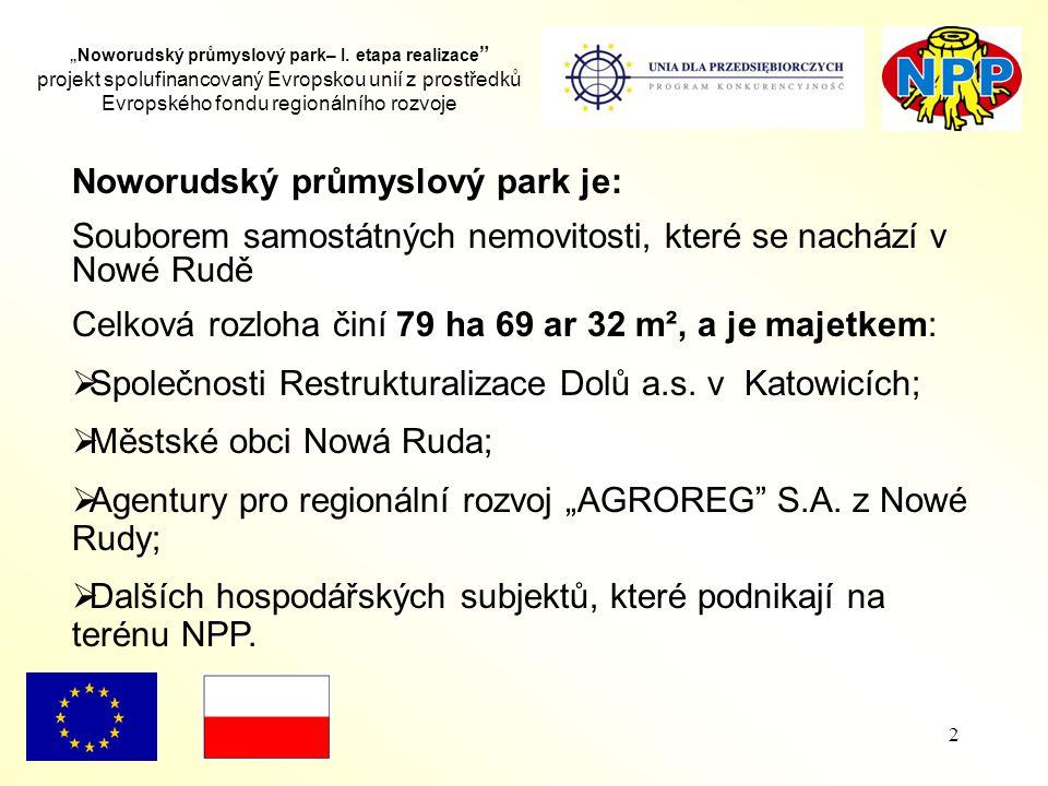 """2 """" Noworudský průmyslový park– I."""