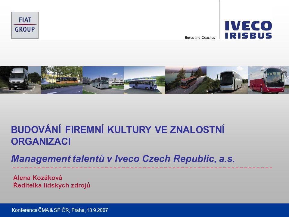 Filename Classification data: Company Presentation Konference ČMA & SP ČR, Praha 13.9.2007 22 ZÁVĚR Děkuji za pozornost .