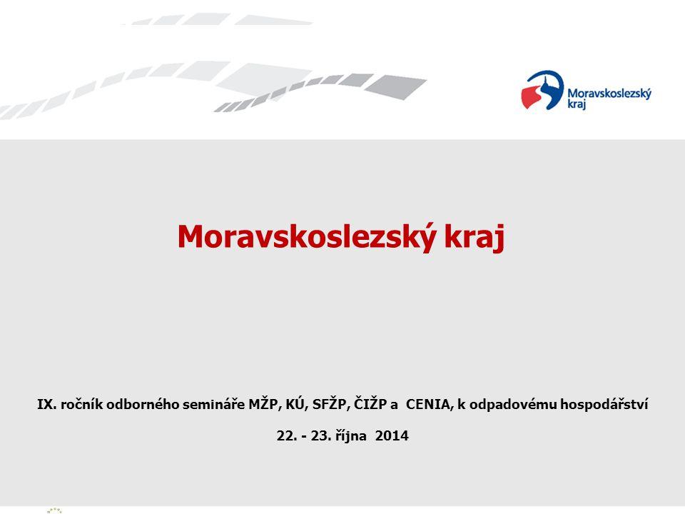 Zavedli jsme systém environmentálního řízení a auditu Zavedli jsme systém environmentálního řízení a auditu Moravskoslezský kraj IX.