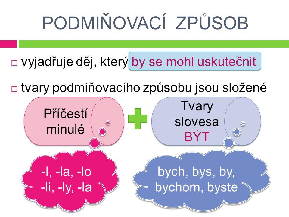 Doplň tvary slovesa SPÁT v podmiňovacím způsobu č.