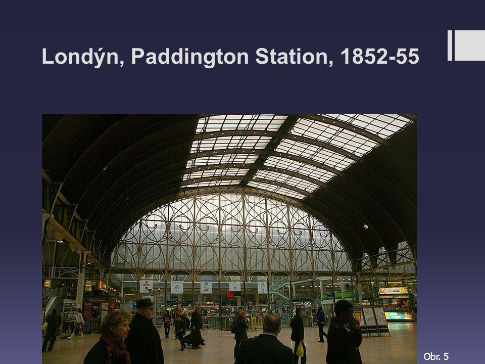 Londýn, Paddington Station, 1852-55 Obr. 5