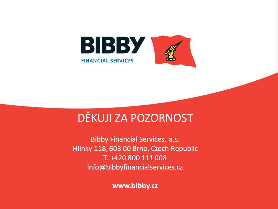 DĚKUJI ZA POZORNOST Bibby Financial Services, a.s.