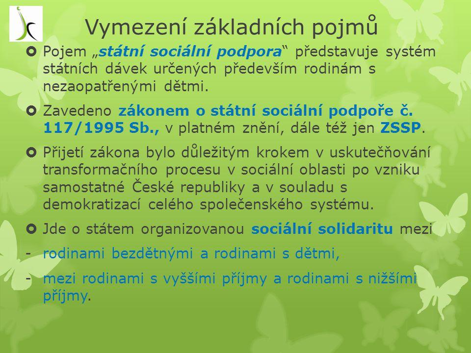 Závislost na pomoci jiné fyzické osoby, § 8 z.č.