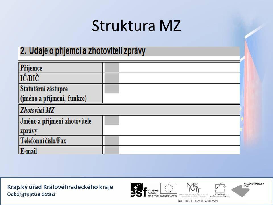 Struktura MZ 2.9.2010