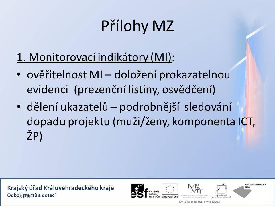 Přílohy MZ 1.