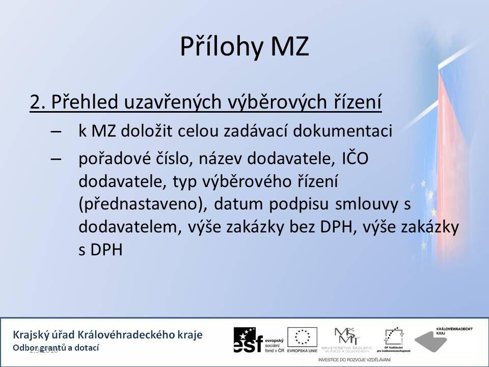 Přílohy MZ 2.