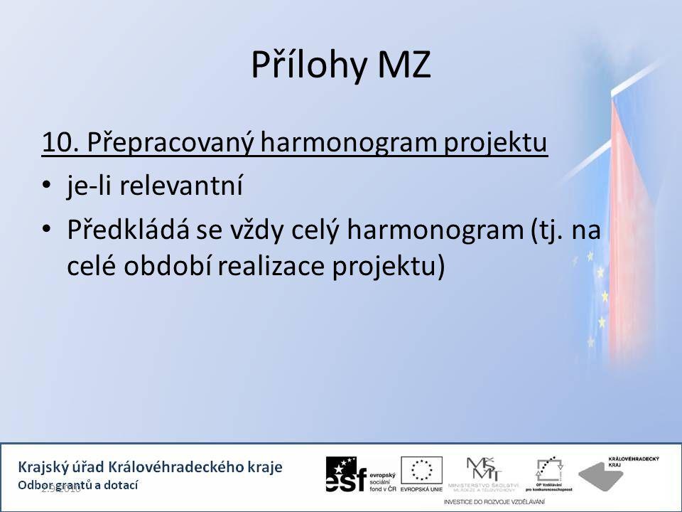 Přílohy MZ 10.