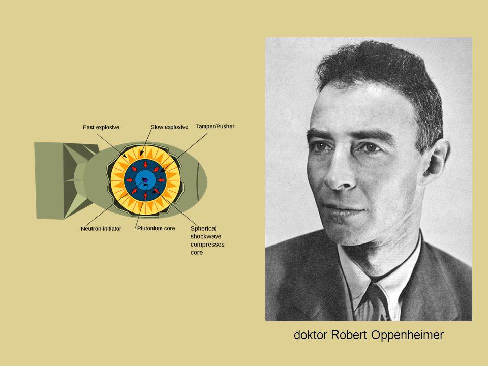 doktor Robert Oppenheimer