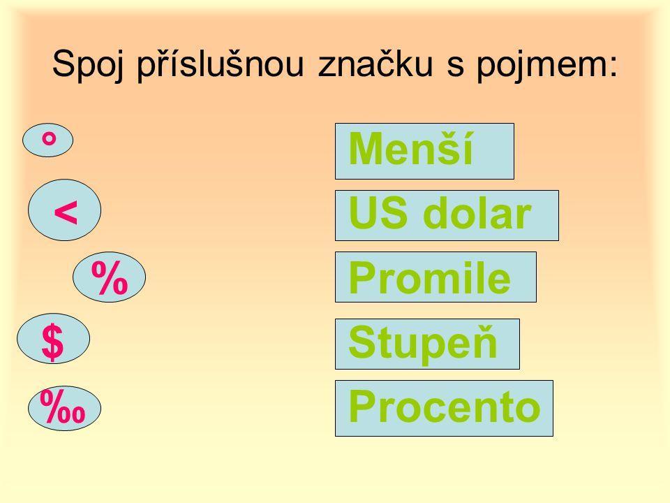 nebo použij vzorec z = č : p.100 z = 15 : 25. 100 z = 0,6.