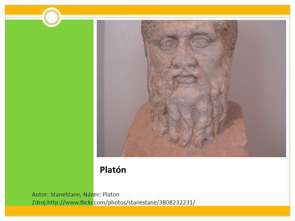Platón Autor: StaneStane, Název: Platon Zdroj:http://www.flickr.com/photos/stanestane/3808232231/