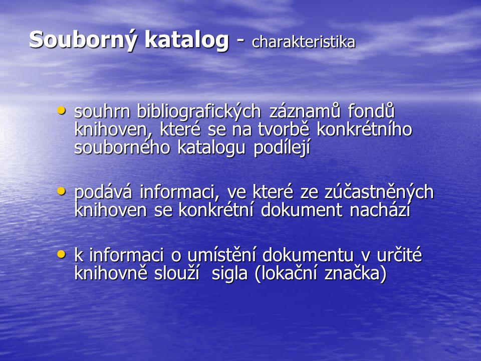 Najděte v SK ČR dílo, které chcete objednat ….