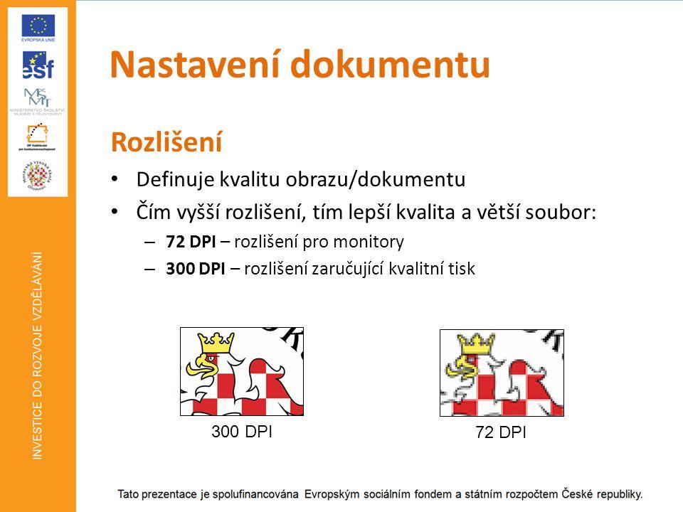 Nastavení dokumentu Předtisková příprava Ořezové značky Typ formátu (sazby): – Na zrcadlo – např.