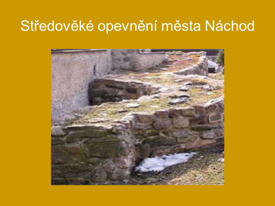 Středověké opevnění města Náchod