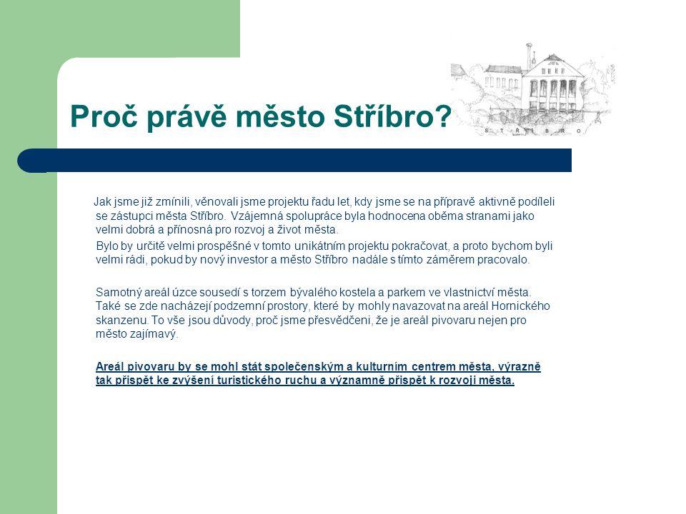 Proč právě město Stříbro.