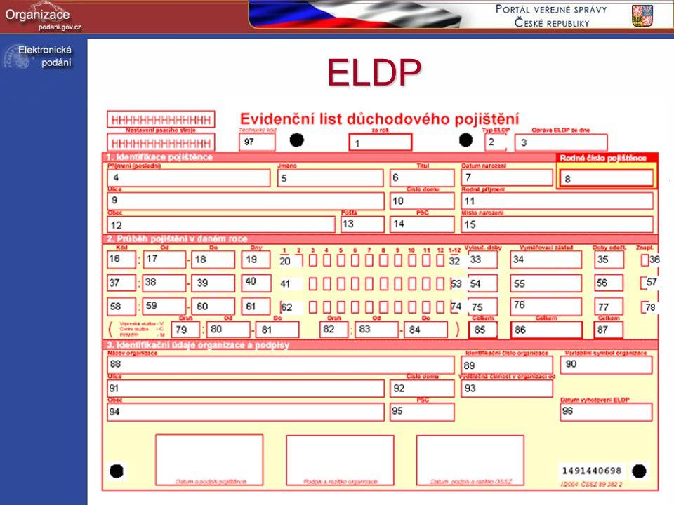 http://www.podani.gov.cz ELDP