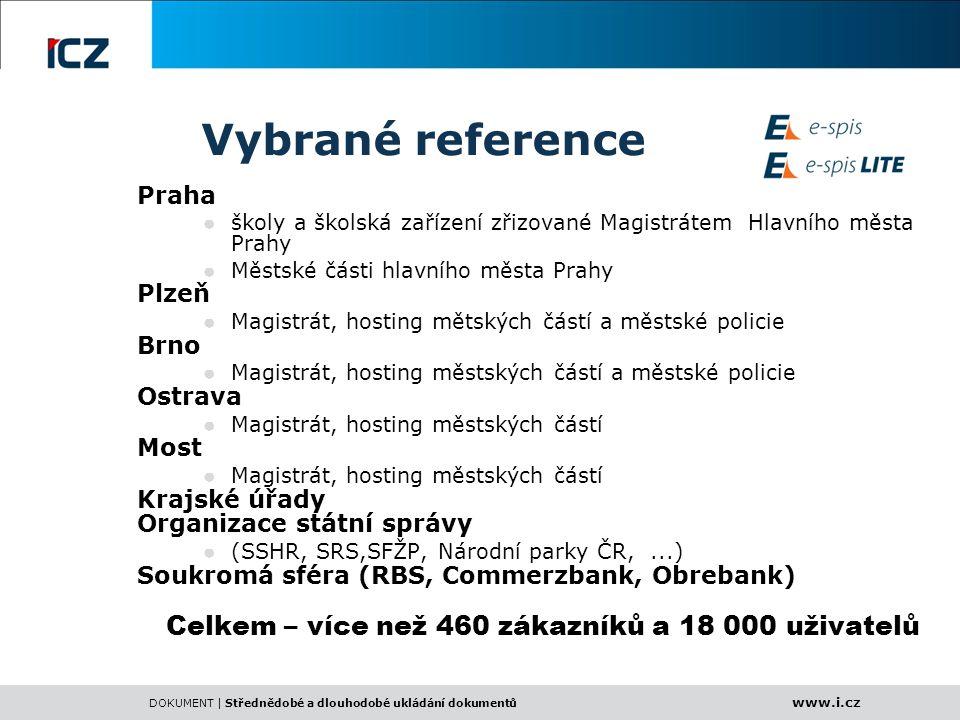 www.i.cz DOKUMENT | Střednědobé a dlouhodobé ukládání dokumentů 2.