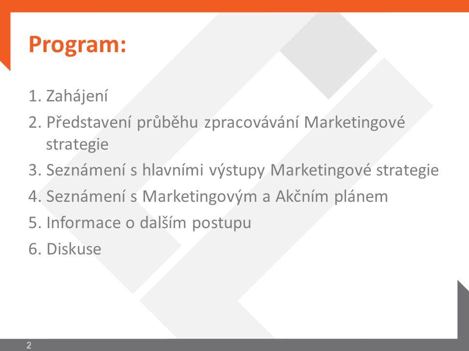 Průběh zpracovávání Marketingové strategie  MS zpracovávána v rámci výzvy ROP, oblast podpory 2.2.4  Cílem výzvy je nastavit způsob koordinace postupu jednotlivých aktérů působících na trhu cestovního ruchu  Zpracovaná MS bude klíčovým dokumentem pro čerpání finančních prostředků ROP v letech 2011- 2014 v TO Ostravsko 3