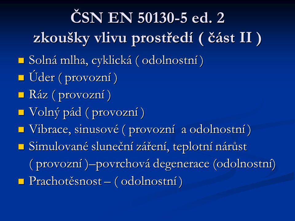 ČSN EN 50130-5 ed.
