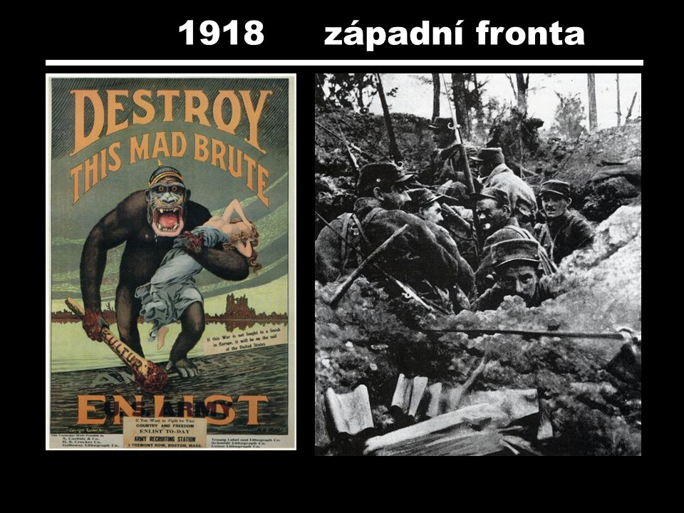 1918 západní fronta