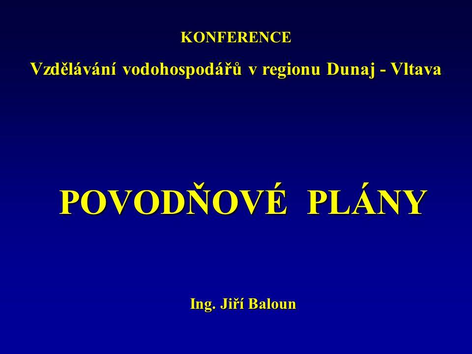 Obsah povodňového plánuPřílohy Povodňové plány nižších úrovní Povodňová kniha