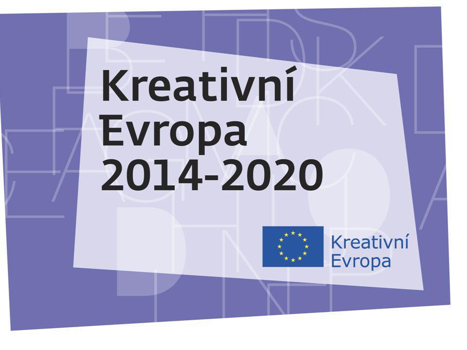 27.11.2013 KREATIVNÍ EVROPA Nový program Evropské unie na podporu kulturních a kreativních odvětví 2014 – 2020 1,46 mld.