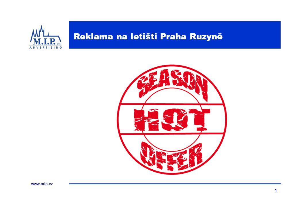 www.mip.cz 1 Reklama na letišti Praha Ruzyně