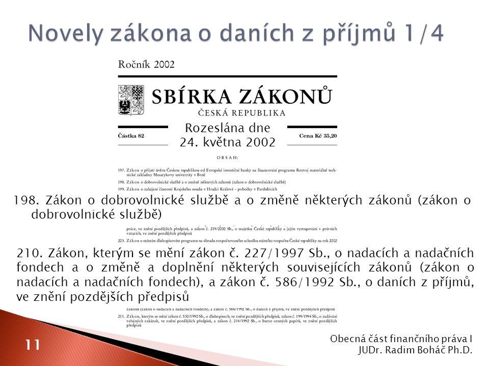 Rozeslána dne 24.května 2002 198.