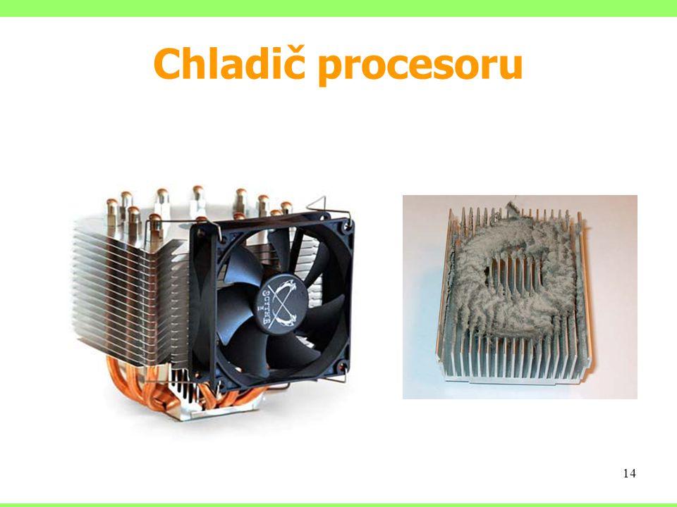 Chladič procesoru 14