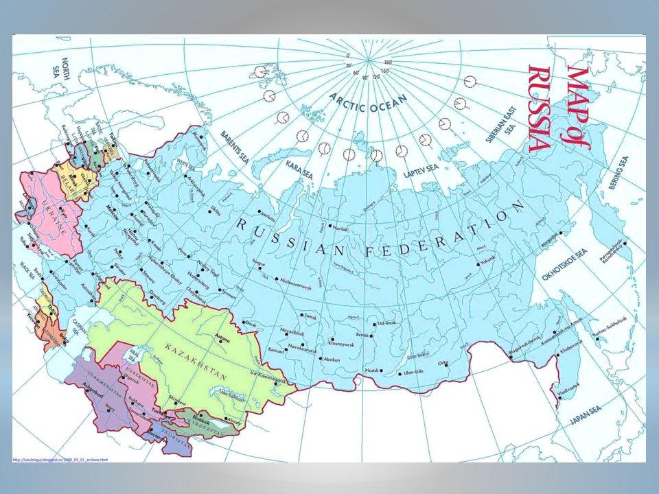 RUSKÁ FEDERACE EVROPSKÁ ČÁSTASIJSKÁ ČÁST ÚZEMÍ VÝCHODNÍ EVROPY 4 MIL.