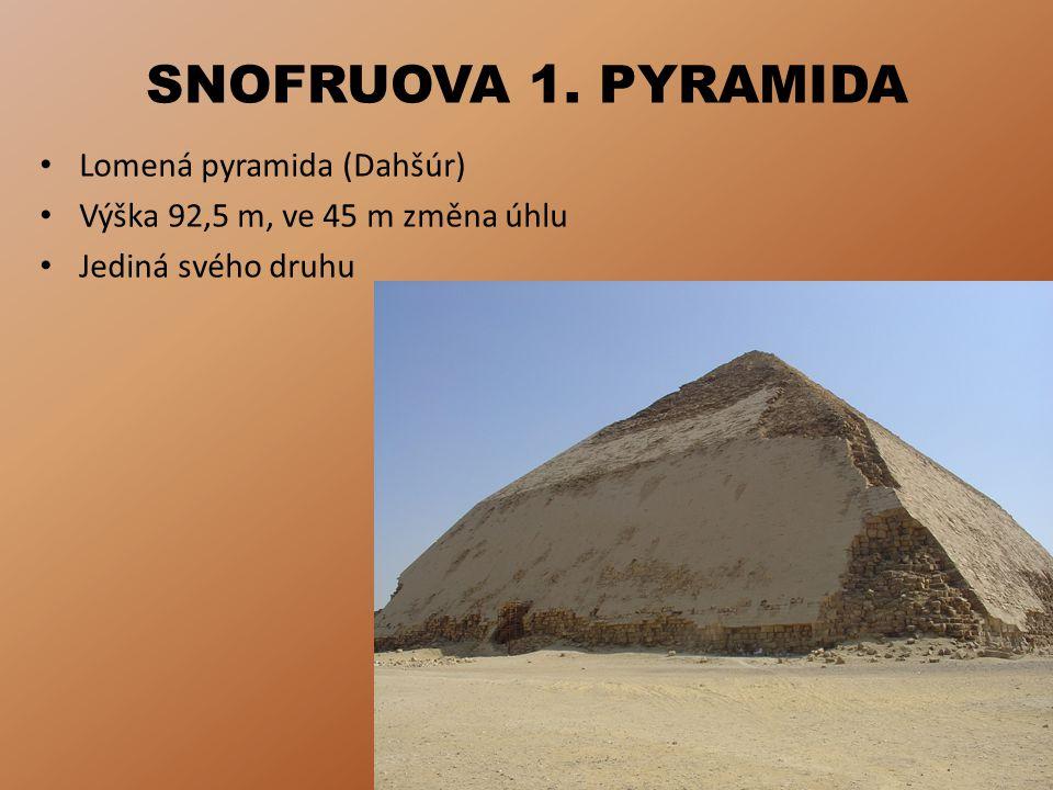 SNOFRUOVA 2.PYRAMIDA Tzv.