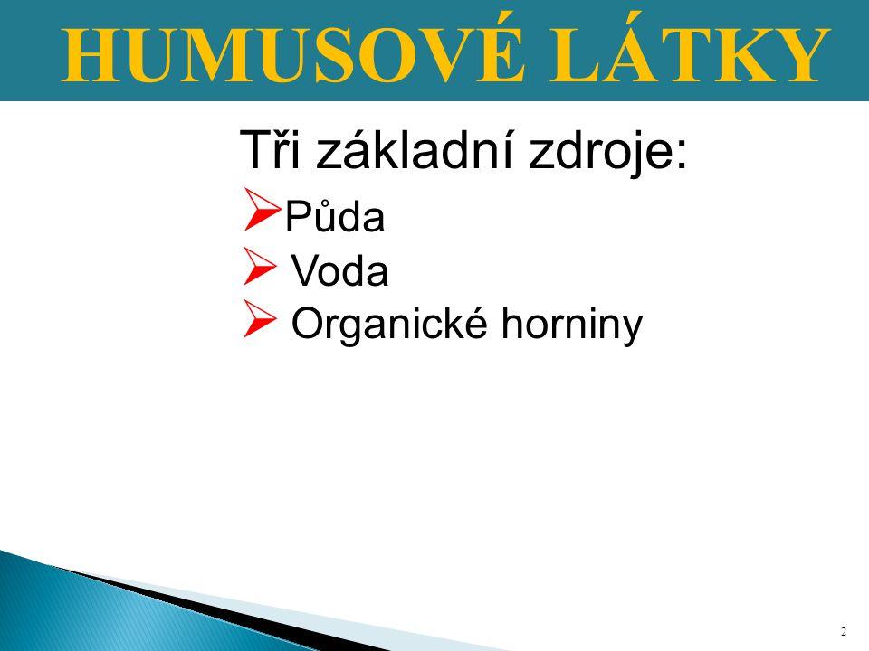 ANHYDROGENNÍFORMY HUMUSU A horizontbiologického původů, granulární resp.