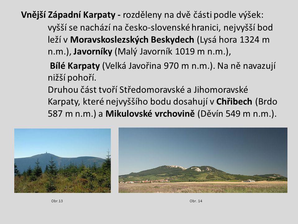 Středoevropská nížina Středoevropská nížina - rozkládá se pouze na malé části území v okolí města Opavy a vyplňuje jí hlavně rovina - Opavská pahorkatina.