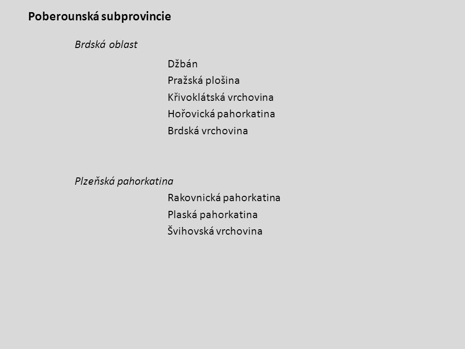 ZÁPADNÍ KARPATY Vněkarpatské sníženiny - subprovincie Západní Vněkarpatské sníženiny Dyjsko-svratecký úval Vyškovská brána Hornomoravský úval Moravská brána Severní Vněkarpatské sníženiny Ostravská pánev